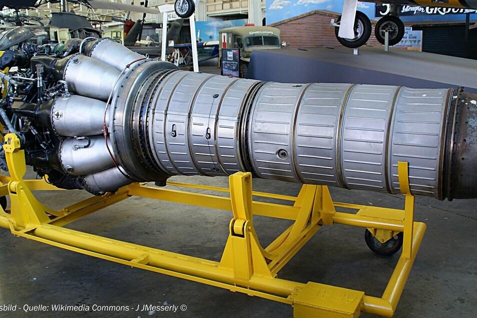 Ein Vergleichsfoto zur gestohlenen Turbine