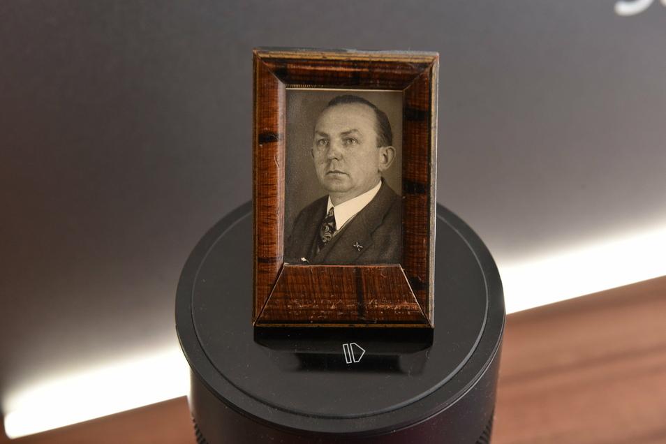 Ein früher Radio-Fan: 1932 eröffnete Paul Naumann sein Radiogeschäft mit Reparaturwerkstatt in Freital-Burgk.