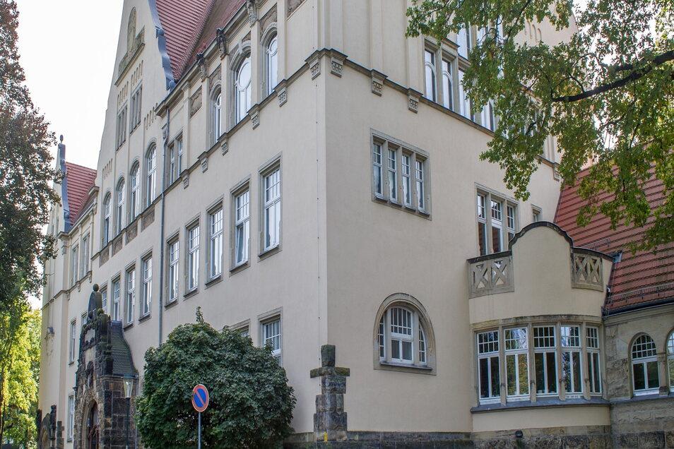 Das Steinbachhaus des Lößnitzgymnasiums wird brandschutztechnisch saniert.