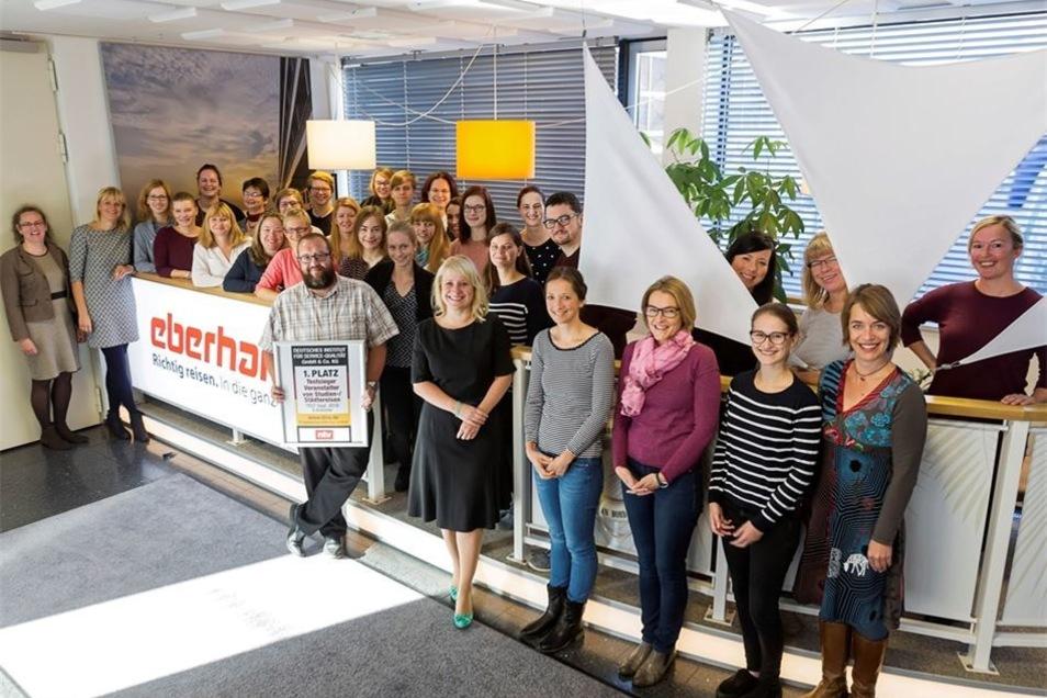 Bei Eberhardt Travel hat der Erfolg viele Mütter: 80 Prozent der Mitarbeiter sind weiblich.