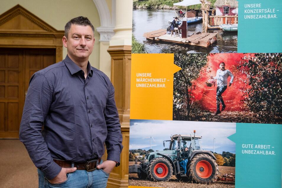 Der Rothenburger Uwe Garack ist Projektmanager im Kommunalteam der ENO und soll Strukturwandel-Projekte im Landkreis Görlitz vorantreiben.