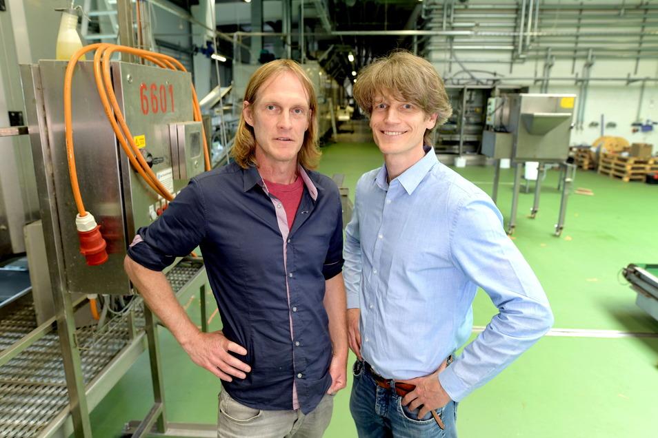 German und Sven Völpel (rechts) sind die Eigentümer der ZiFood GmbH.