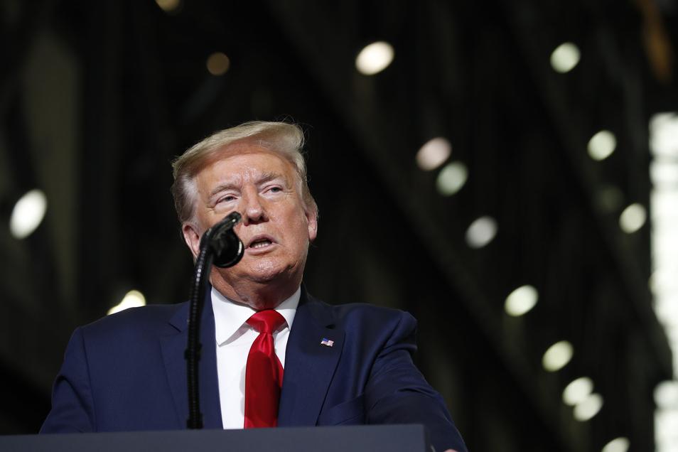 US-Präsident Donald Trump machte in den vergangenen Tagen linksradikale Gruppen für die Ausschreitungen verantwortlich.