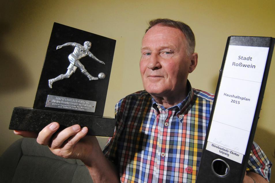 Uwe Hachmann ist den meisten Roßweinern als Stadtrat und als Sportler beziehungsweise Übungsleiter bekannt. An diesem Mittwoch wird er 80 Jahre alt.