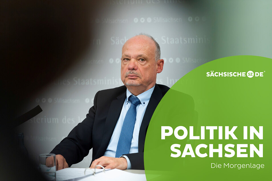 Petric Kleine ist nicht länger Chef des Landeskriminalamt Sachsens.
