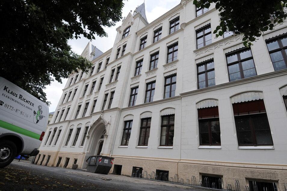 Die Annenschule, Teil des Augustum-Annen- Gymnasiums in Görlitz.