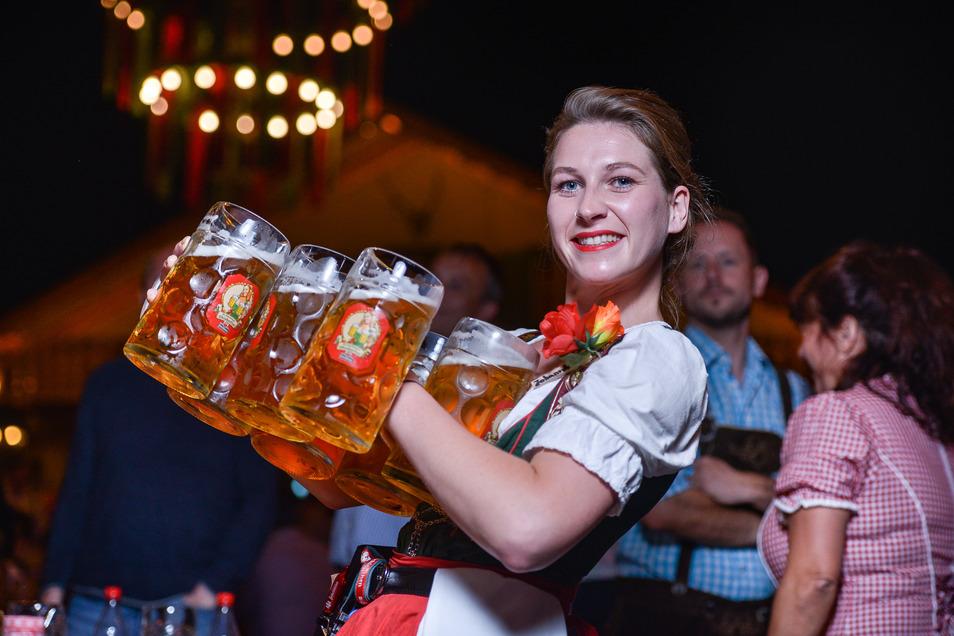 In diesem Jahr kann in Dresden nicht gepichelt werden. Aber Fans des sächsischen Oktoberfestes müssen kein ganzes Jahr warten.