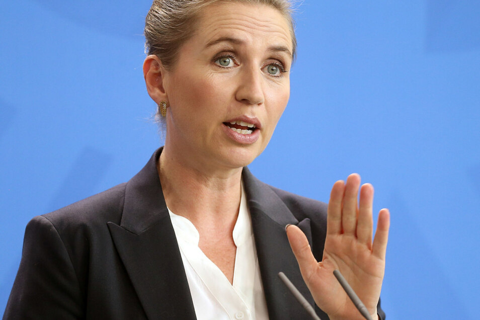 Mette Frederiksen ist die  Ministerpräsidentin von Dänemark.