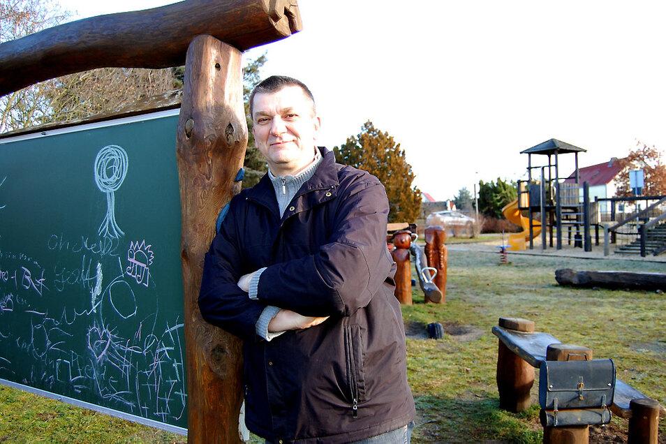 Ortsvorsteher Jens Sarodnick hofft auf eine baldige Lösung.