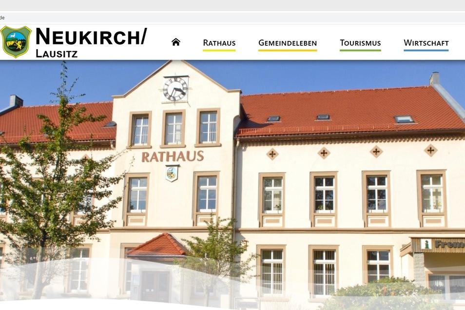 Die Gemeindeverwaltung von Neukirch/Lausitz hat die Internetseite neu gestalten lassen.