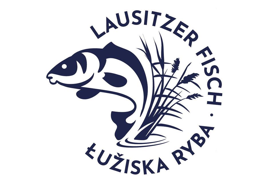 Mit diesem Logo wird künftig für Lausitzer Fisch geworben.