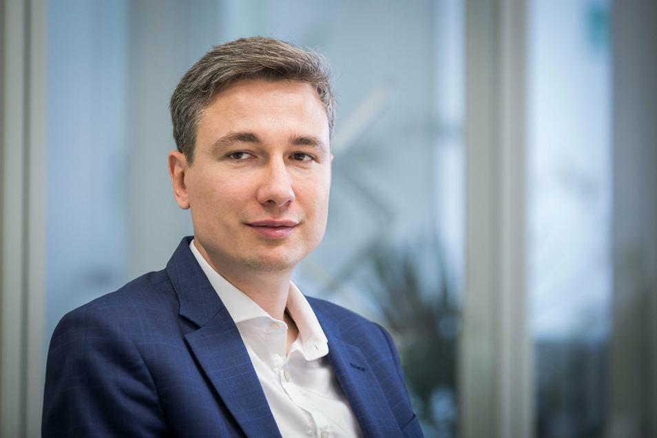 Stephan Kühn (Grüne) ist der Favorit für den Posten als Dresdens neuer Baubürgermeister.