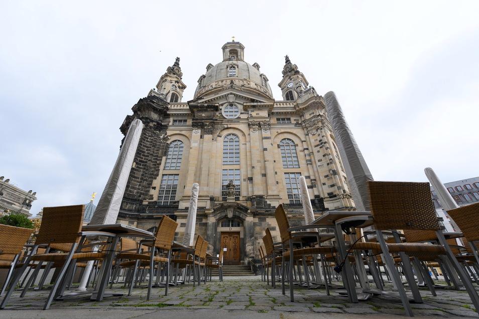 Ab Mittwoch darf in Dresden auch die Außengastronomie wieder öffnen.