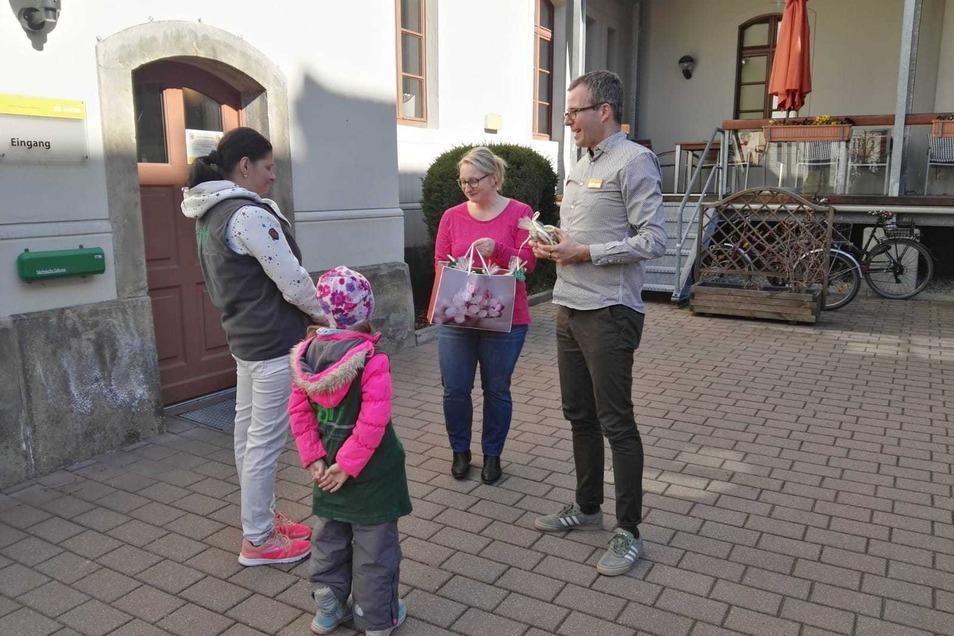 Kekse fürs Altenheim gab' am Dienstag - als Dankeschön.
