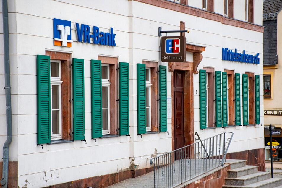 Die VR-Bank Mittelsachsen schließt zum 1. Januar 2022 ihre Filiale in Hartha.