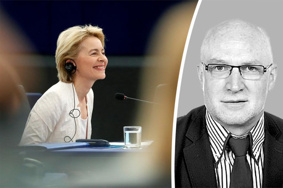 Ursula von der Leyen hat es geschafft. Sie ist Chefin der mächtigen Eu-Kommission.