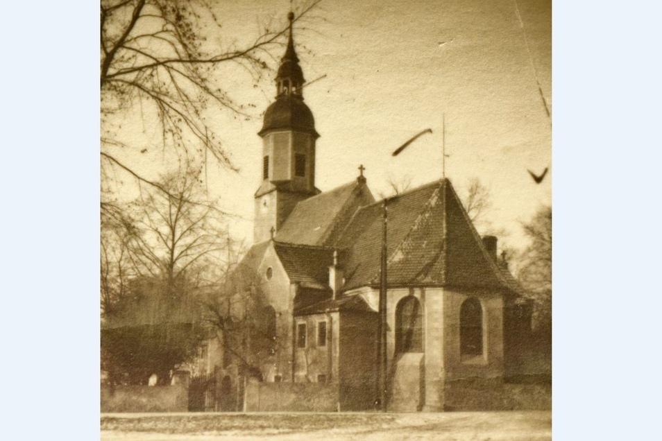 Exakt 70 Jahre ist die Aufnahme der Glaubitzer Kirche mittlerweile alt.