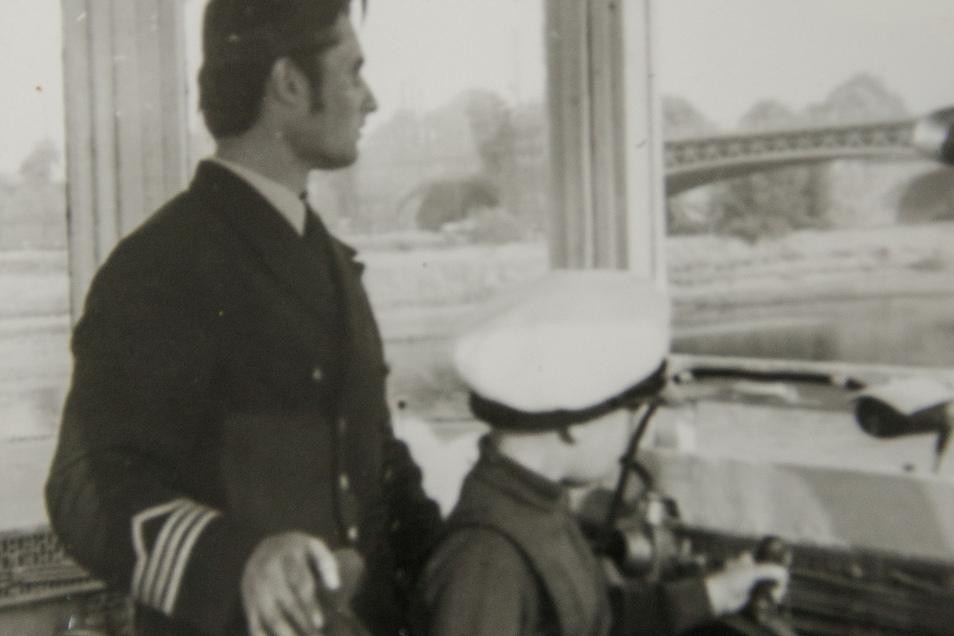 chon als Vierjähriger war Falk Naumann beim Vater auf dem Dampfer.