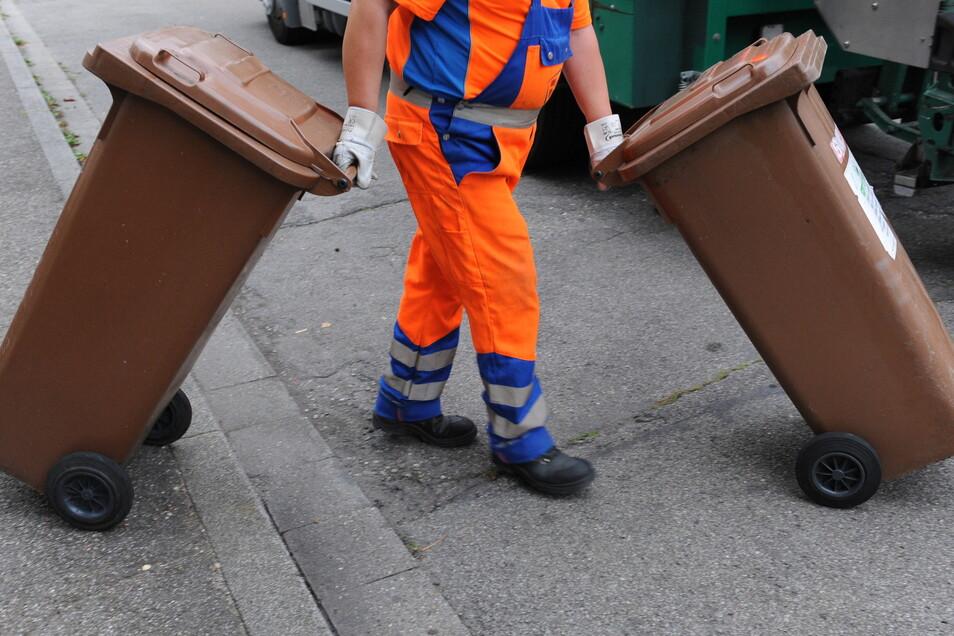 55 Prozent der Einwohner in den Kreisen Meißen und Pirna waren laut Abfallbilanz 2019 per brauner Tonne an die Biogut-Sammlung angeschlossen. Das ist trotz Freiwilligkeit ein Spitzenwert.