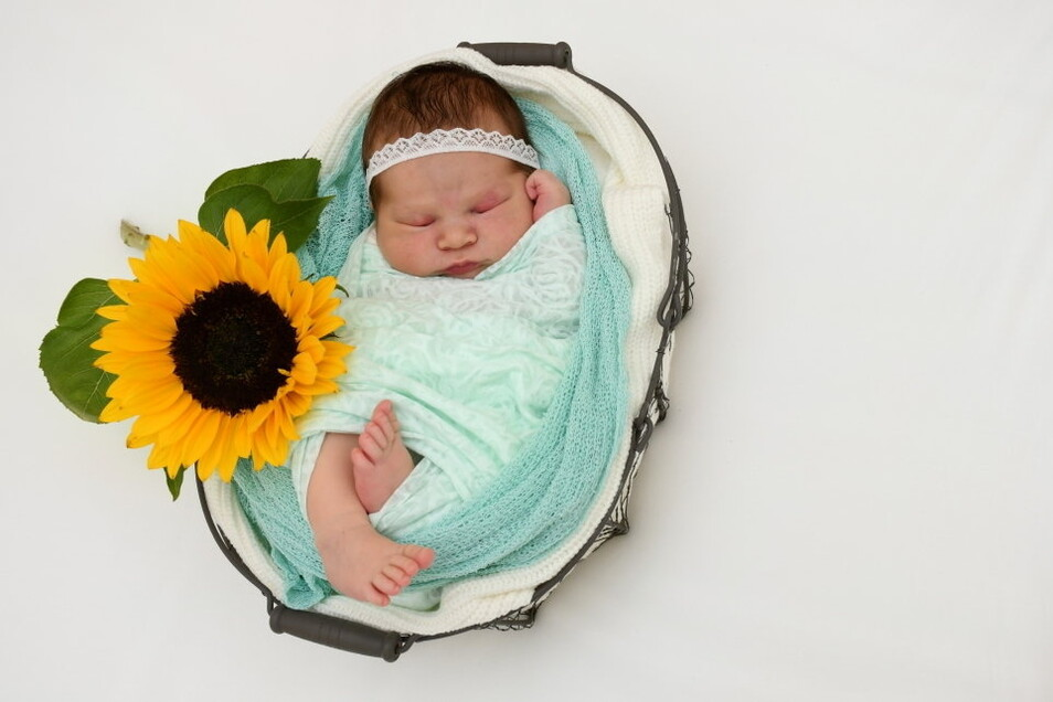 Mia Zoe, geboren am 28. Juni, Geburtsort: Freital, Gewicht: 3.590 Gramm, Größe: 50 Zentimeter, Eltern: Linda Köhler, Wohnort: Freital
