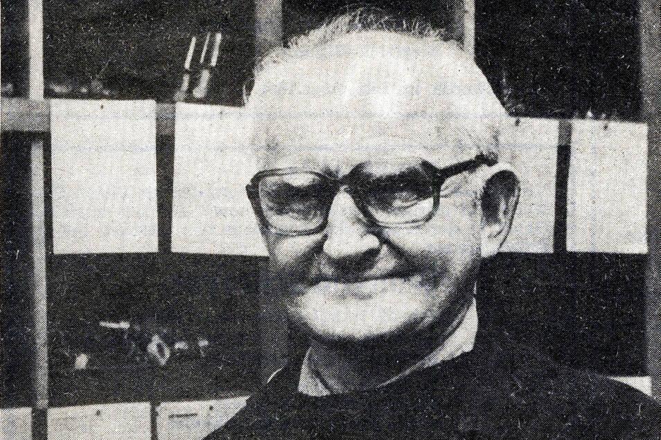 Karl Hoffmann hatte zumindest zeitweise mit Kühen zu tun.