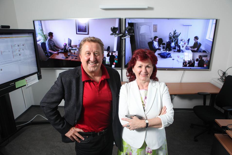 Einen Teil des Erlöses aus dem Verkauf der Saxonia Systems haben Viola Klein und Andreas Mönch in die Biomagnetik Park GmbH investiert.