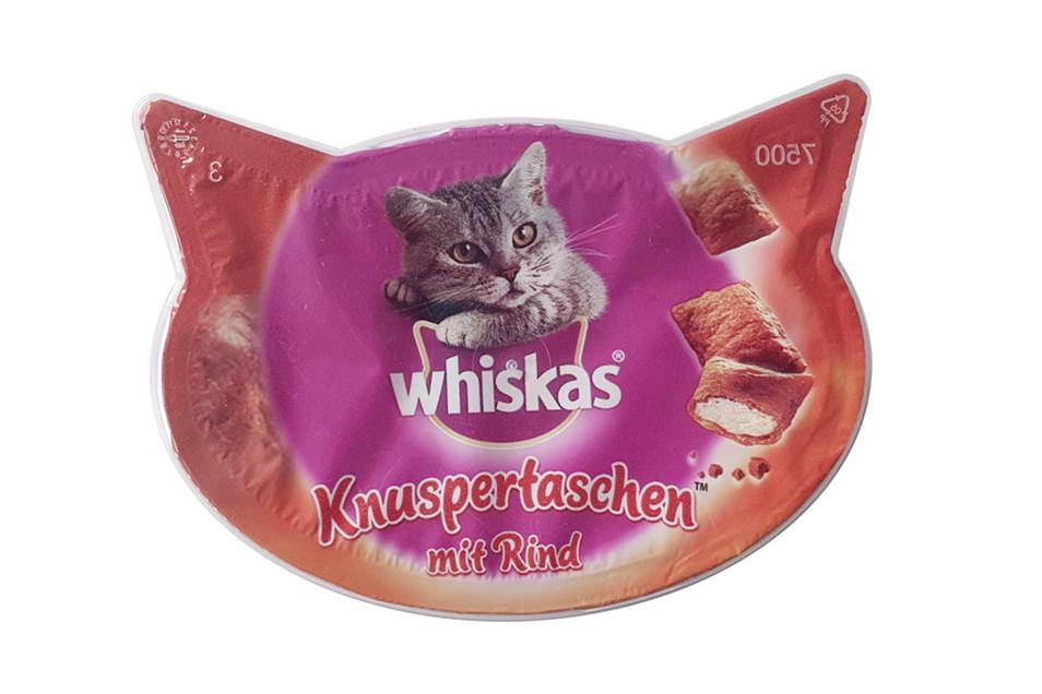 4. Platz: Whiskas Knuspertaschen, Mars, 925 Stimmen (4,3 Prozent)
