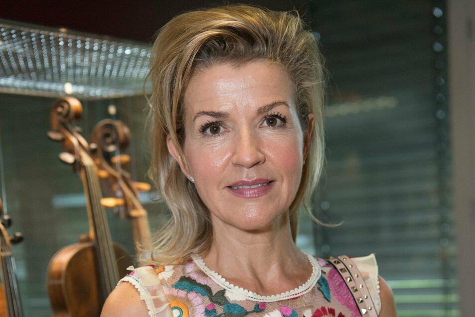 """Anne-Sophie Mutter gehört zu den Gewinnern des diesjährigen """"Opus Klassik""""."""