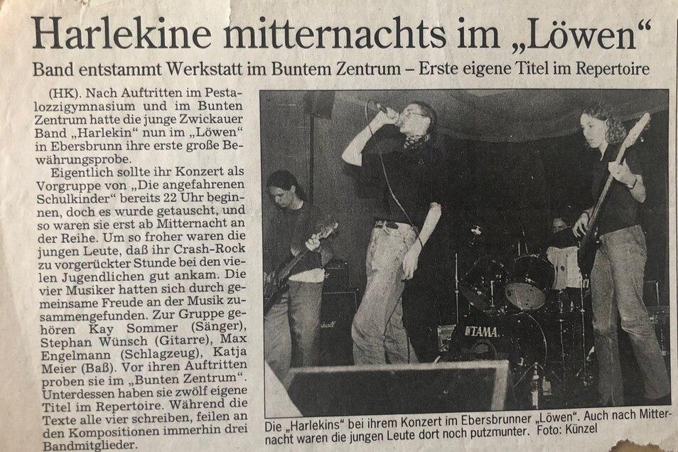 Im Alter vonEtwa von 16 bis 18 spielte Meier in der Crashrockband. Die Texte waren sozialkritisch.Heute lebt keins der Bandmitglieder mehr in Zwickau.