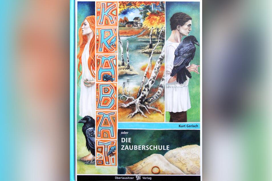 So sieht das Krabat-Buch aus, das der Oberlausitzer Verlag jetzt wieder aufgelegt hat.
