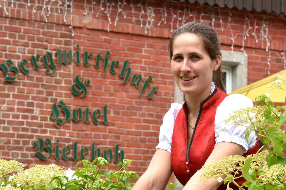 Anna Starke ist die Chefin auf dem Bieleboh. Die Familie hat noch mehr Pläne.