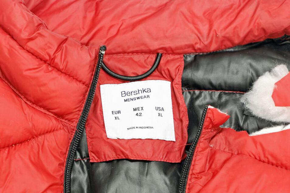 ... der Marke Bershka.