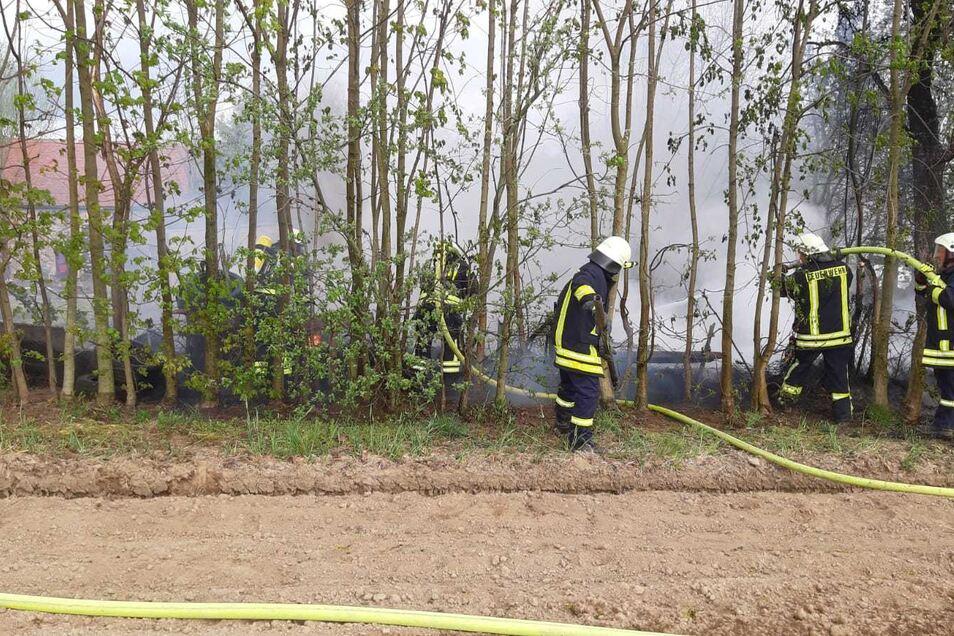 Das Feuer war relativ schnell unter Kontrolle.