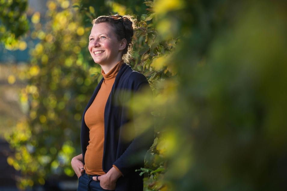 Kosmopolitin Nicole Herzog ist eher unpolitisch groß geworden. Doch jetzt sieht sie Handlungsbedarf - im Sinne der Jugend und ihrer Region.