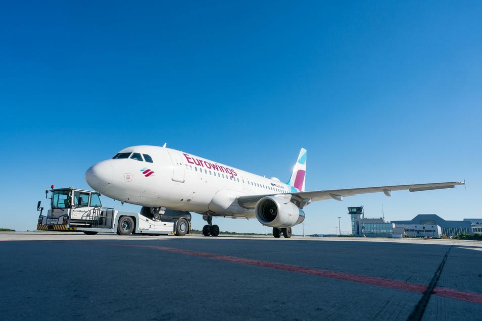 Eurowings fliegt wieder ab Dresden.