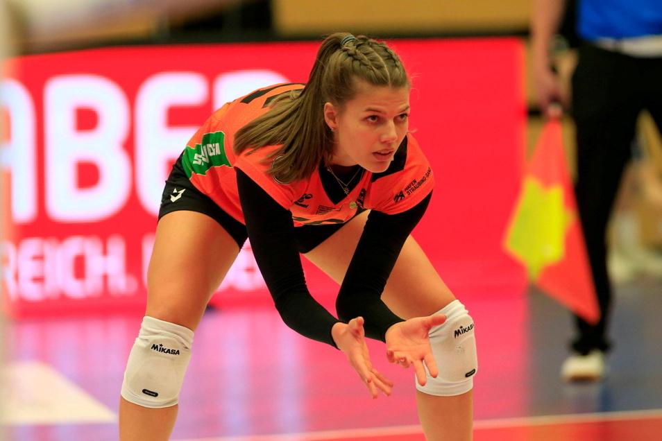 Sophie Dreblow wird künftig für den Dresdner SC Bälle abwehren.