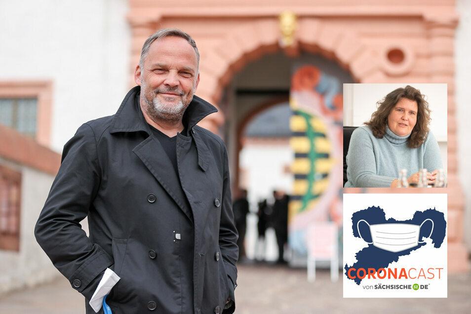 Dirk Neubauer ist Bürgermeister von Augustusburg. Im CoronaCast spricht er über ein gestopptes Modellprojekt und seinen Austritt aus der SPD.