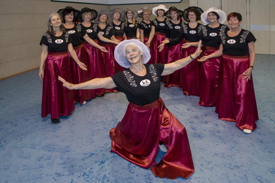Inge Richter leitet die Freestyle Dancing Gruppe der SG Motor Wilsdruff seit zehn Jahren. Nun soll die Jubiläumsfeier nachgeholt werden.