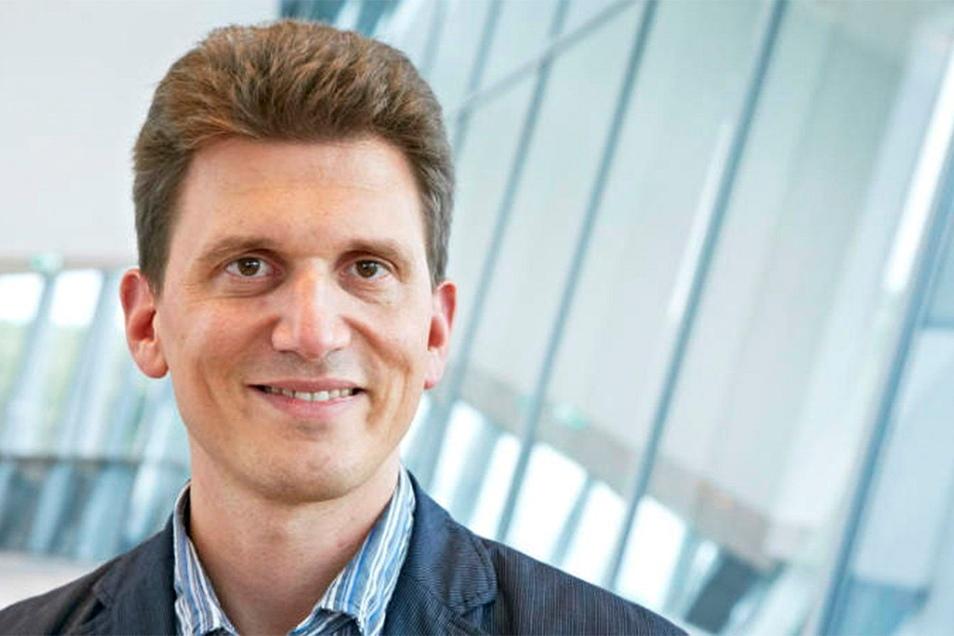 Prof. Alexander Dalpke, Direktor am Institut für Medizinische Mikrobiologie und Virologie am Universitätsklinikum Dresden.