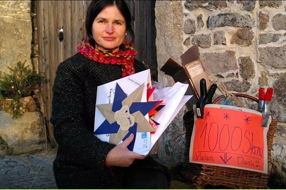 Beate Tarrach wollte mit ihrer Weihnachtsaktion den Menschen in Kliniken und Heimen eine Freude machen. Die Idee fand großen Anklang.