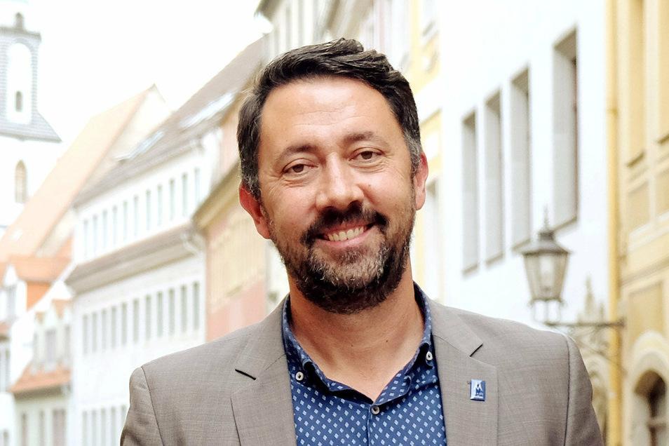 Christian Friedel ist Amtsleiter für Stadtmarketing, Tourismus und Kultur im Meißner Rathaus.