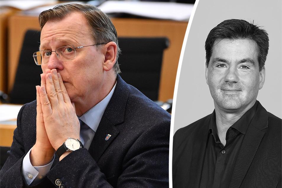 Linke, SPD und Grüne in Thüringen haben am Dienstag in Erfurt ihren Koalitionsvertrag unterzeichnet. Doch wird Bodo Ramelow am Mittwoch auch als Ministerpräsident bestätigt?