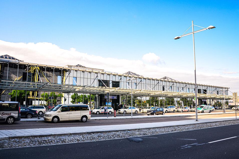Blick auf das Terminal B in Leipzig.