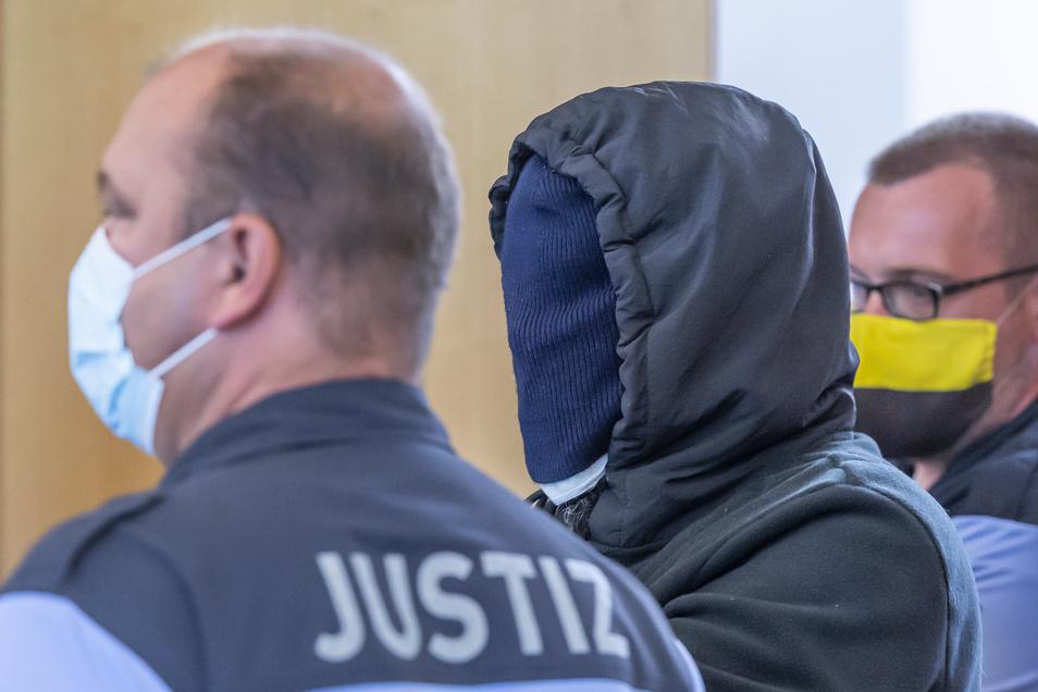 Geht in Revision: Laurent F.  im Landgericht Dresden