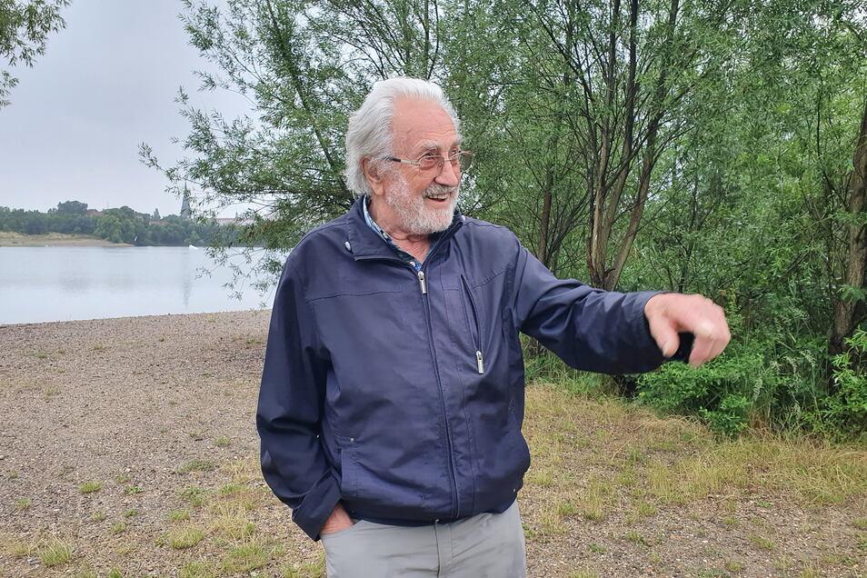 """""""Was ich nicht kenne, kann ich nicht schützen"""": Fred Schlicke sorgt sich um den Artenschutz."""