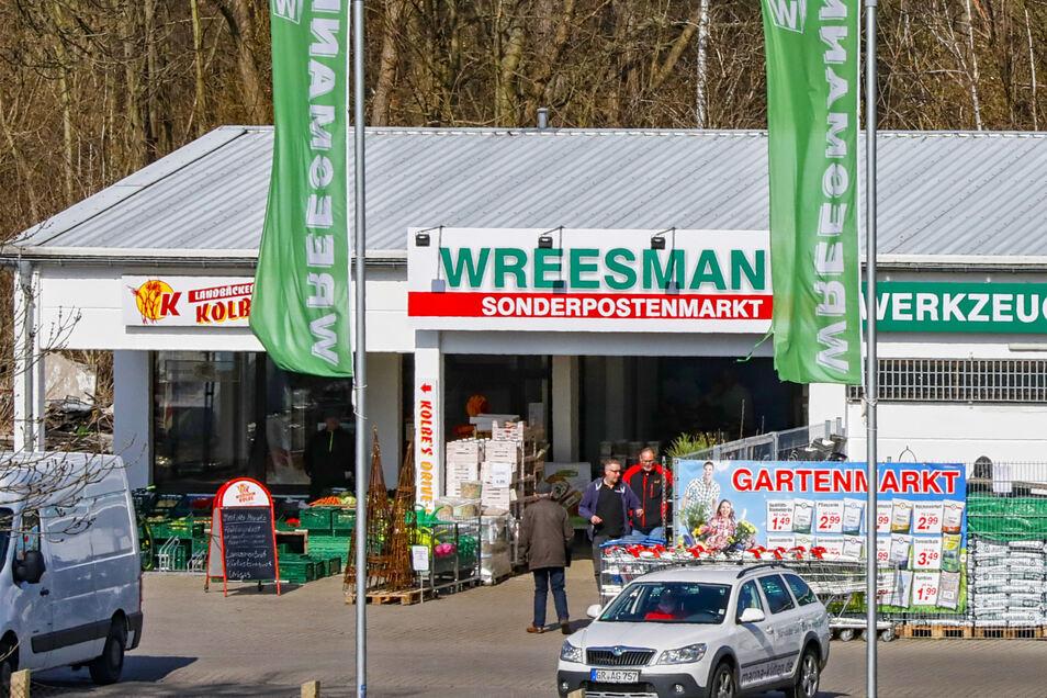 Der Wreesmann Sonderpostenmarkt in Löbau war vorige Woche noch geöffnet.
