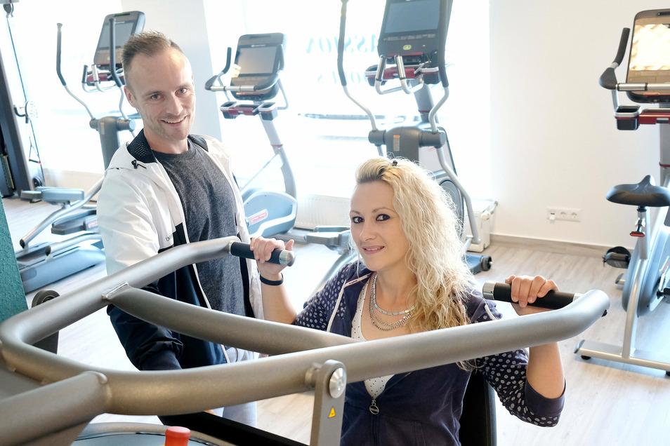 Martin und Tina Zimmermann eröffnen mitten in Corona-Zeiten ein Fitness-Studio in Nossen.