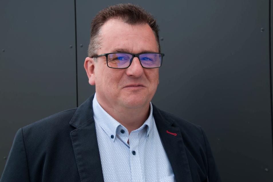 Hajo Exner will für die AfD Oberbürgermeister von Löbau werden.