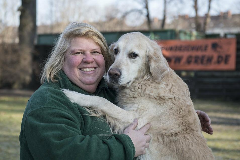 Weiß, was Hunde wollen: Katja Krauß ist staatlich anerkannte Hundesachverständige und Hundetrainerin.