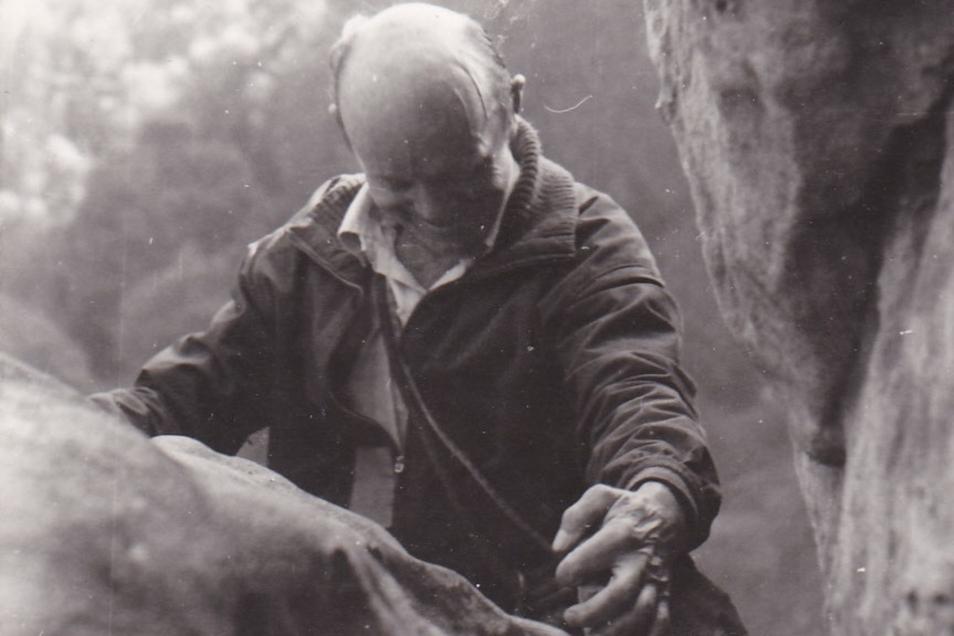 Sein Sherpa sagte, niemand klettere so wie er: Fritz Wiessner.